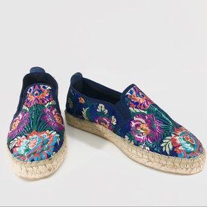 Fabiola's Print Espadrille Shoes